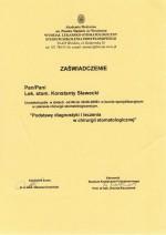 Diagnostyka i leczenie w chirurgii stomatologicznej