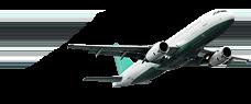 Zdjęcie samolotu w przestworzach