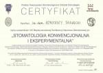 Stomatologia konwencjonalna i eksperymentalna